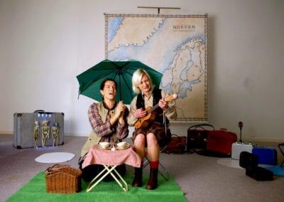 För barn - Norden runt - en förtrollande och musikalisk teaterföreställning