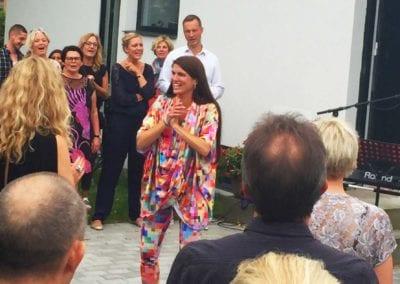 Allasång med Anna Kruse på jobbet