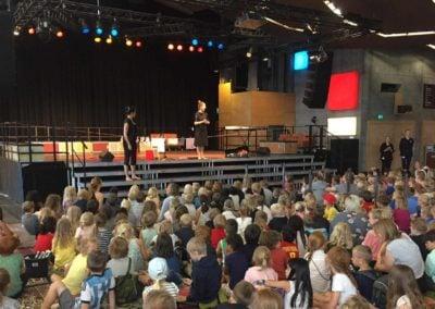 """Anna Kruse och Kirsten Juul Seidenfaden till konsert """"Vi finder på"""""""