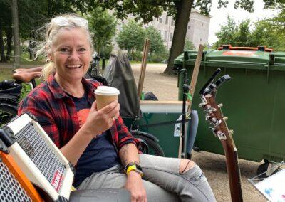 Anna Kruse och Lisbeth Rysgaard till Parkbänks konserter